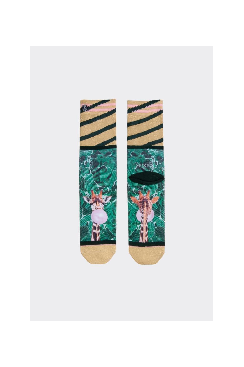 XPOOOS ponožky dámské - teddy marble