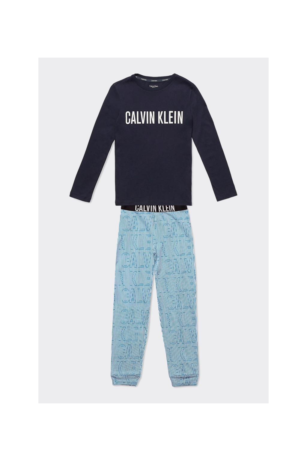 PRO DĚTI! Calvin Klein pyžamo BOYS- modré