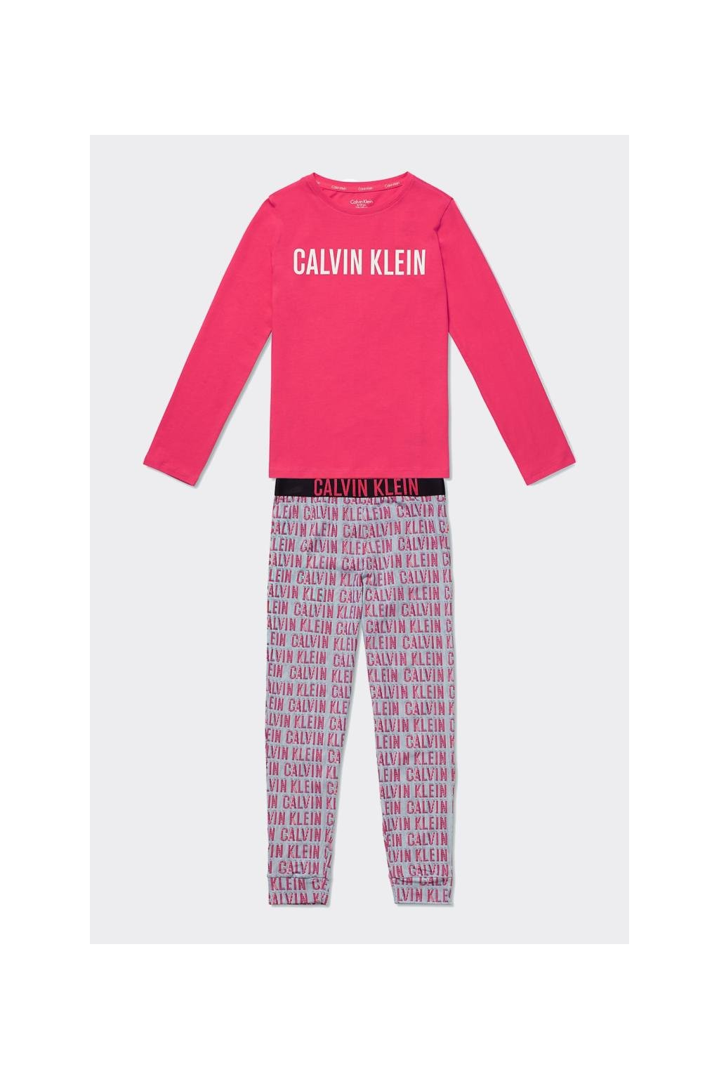 PRO DĚTI! Calvin Klein pyžamo Girls- růžové