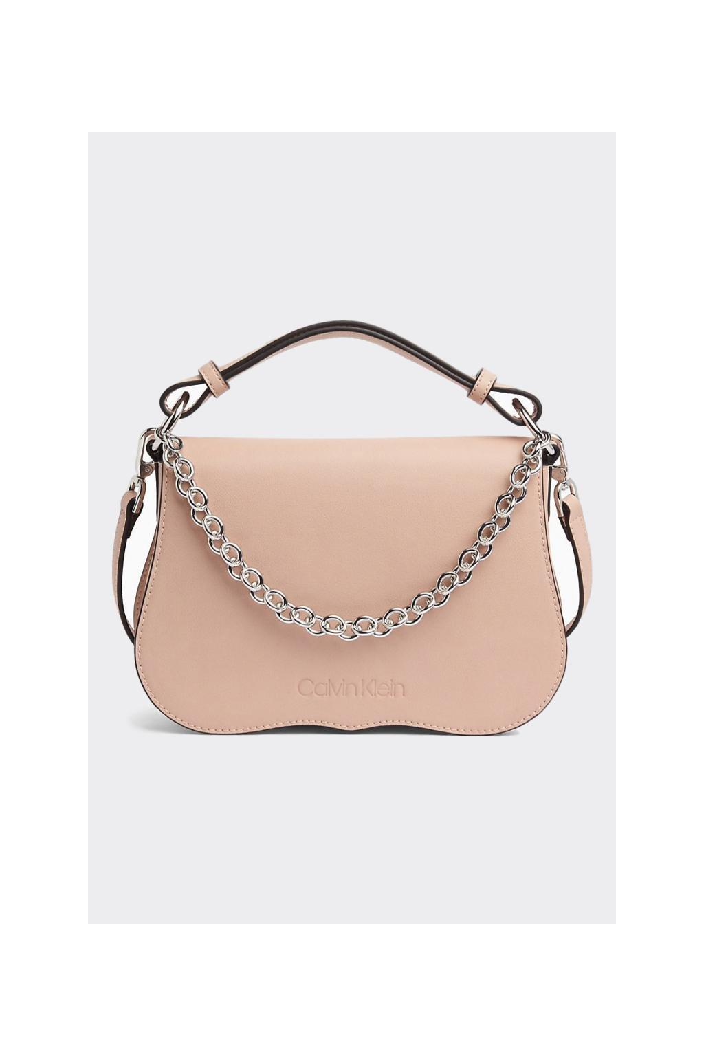 Calvin Klein americana crossbody kabelka - světle růžová
