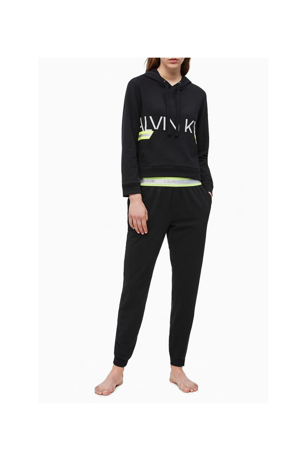Calvin Klein NEON dámské tepláky - černé