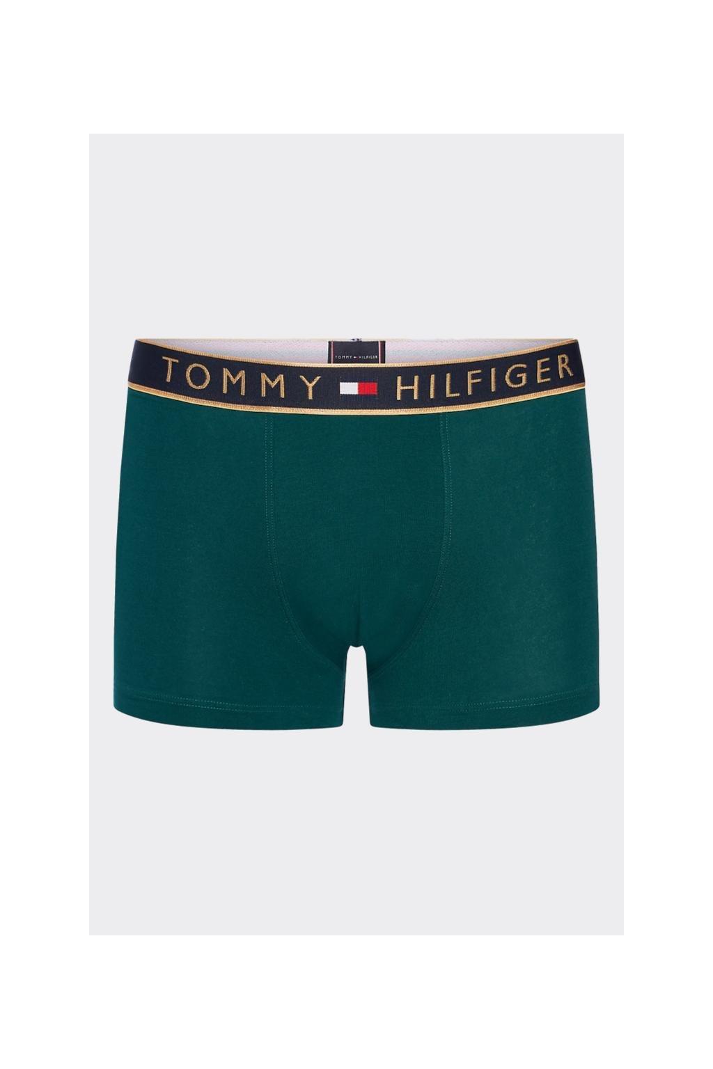 Dárkové balení Tommy Hilfiger boxerky - zelená