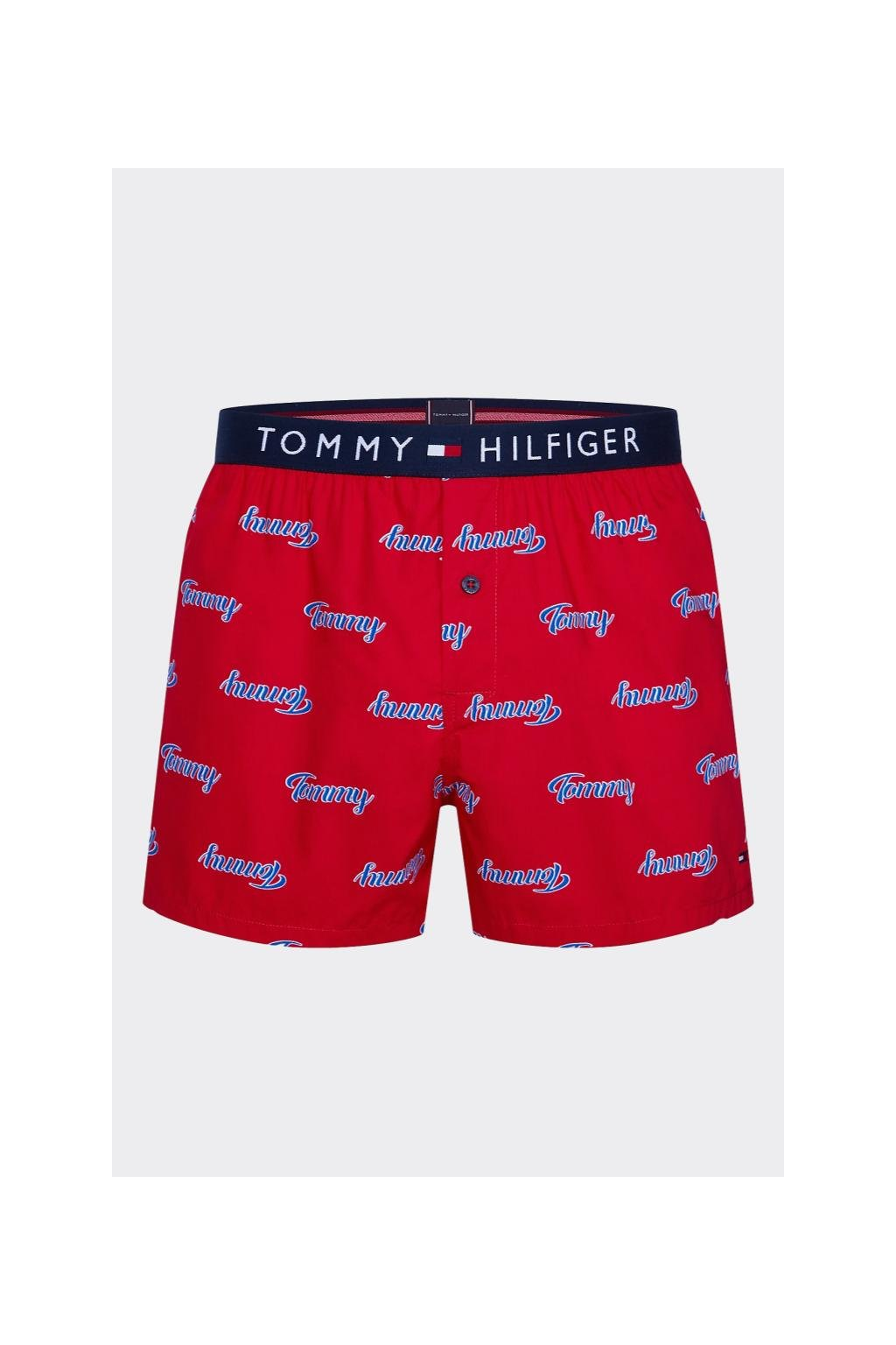 Valentýnské balení Tommy Hilfiger trenýrky - červené