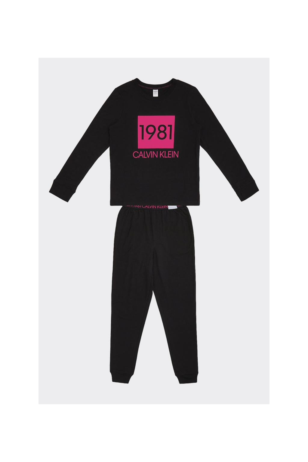 Dárkové balení Calvin Klein volnočasová souprava dámská- černá
