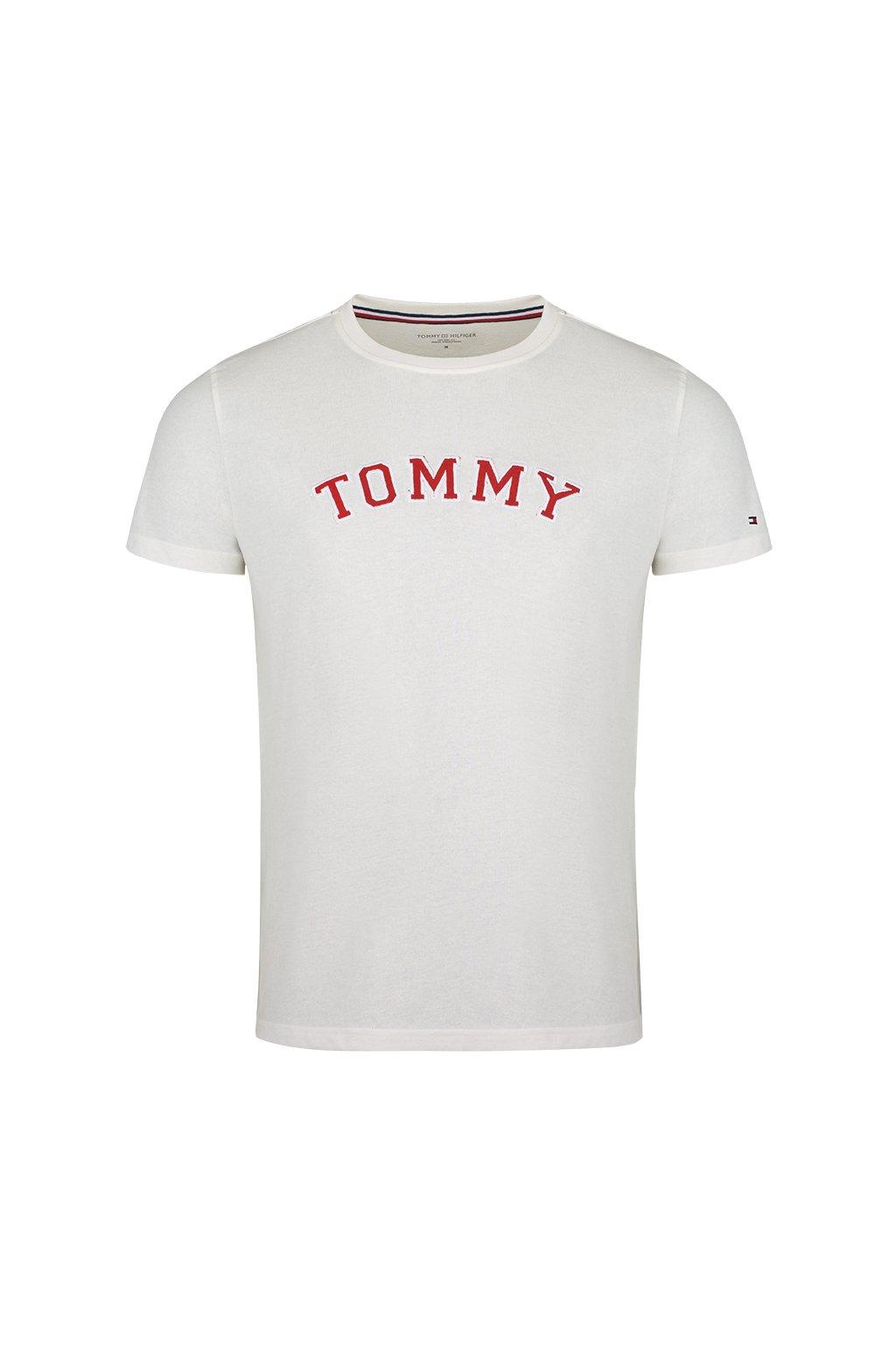 Tommy Hilfiger Tričko pánské - bílé