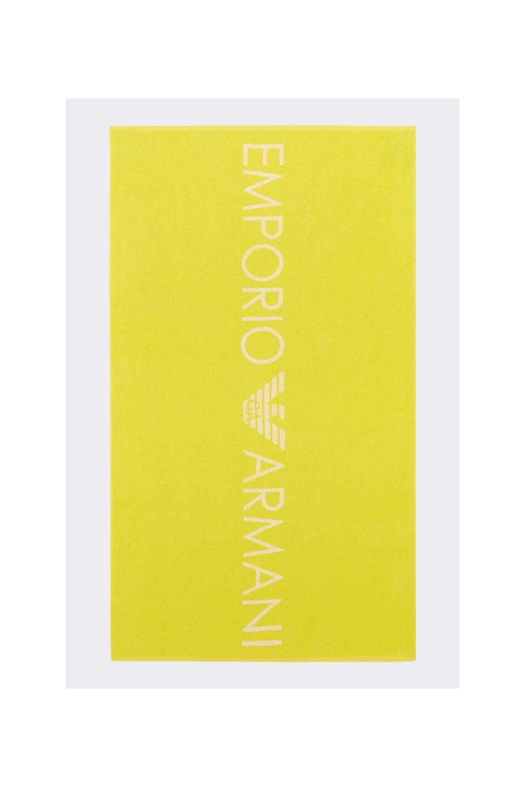 Emporio Armani osuška - žlutá