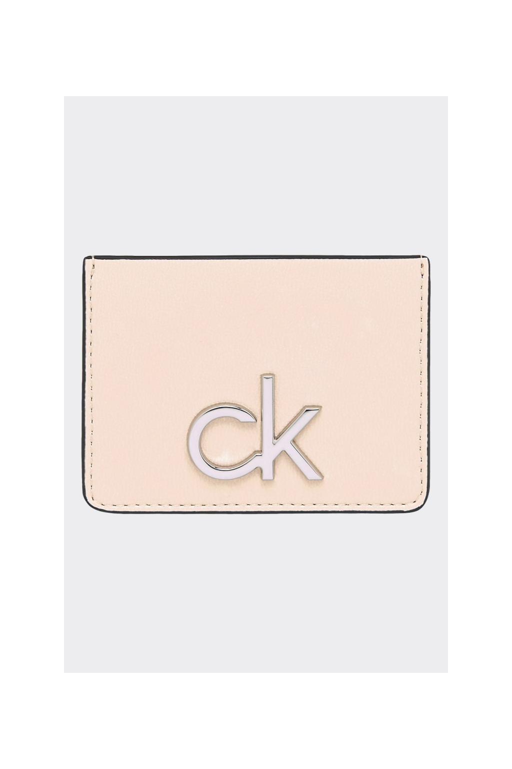 Calvin Klein pouzdro na karty - béžová