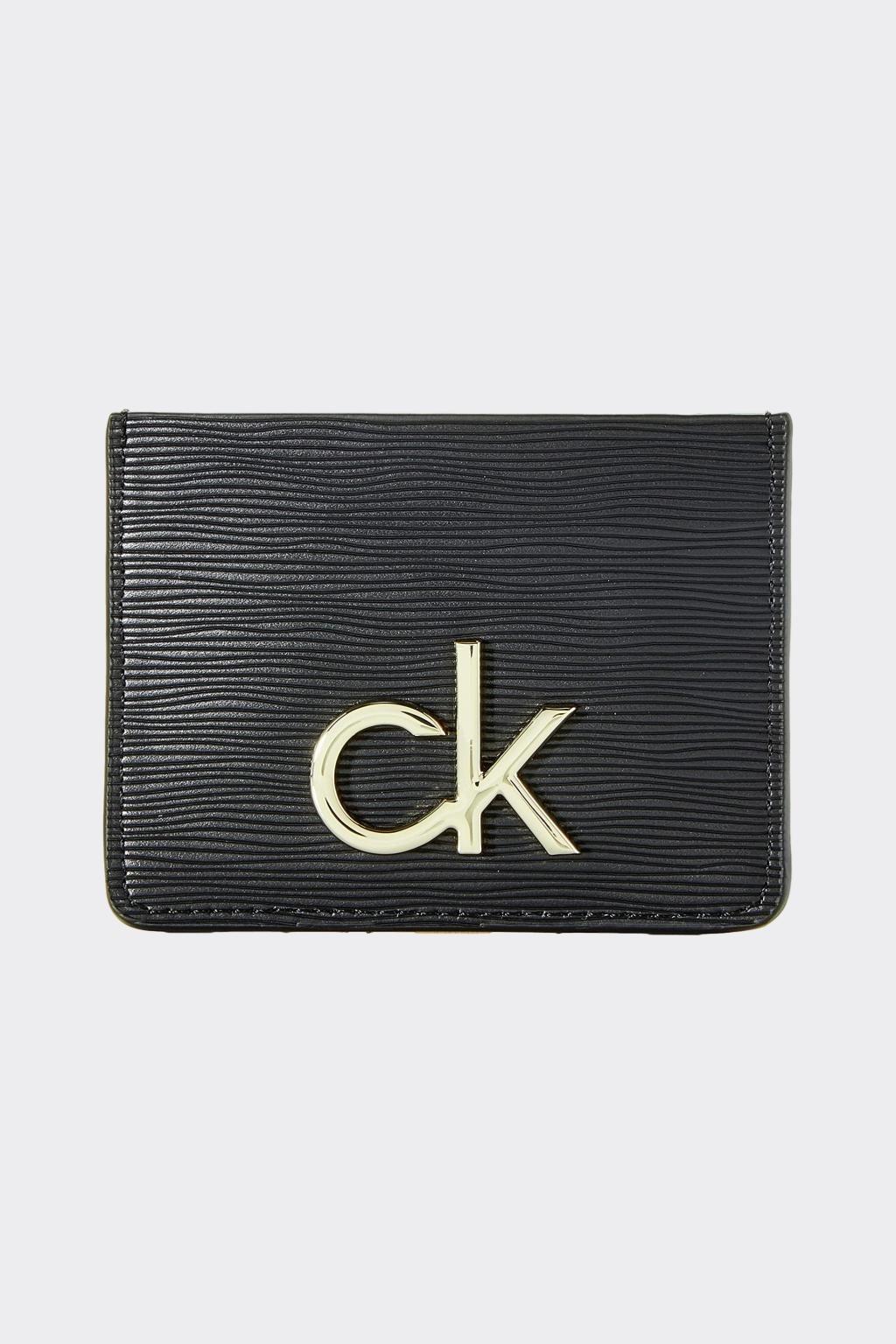 Calvin Klein pouzdro na karty - černá
