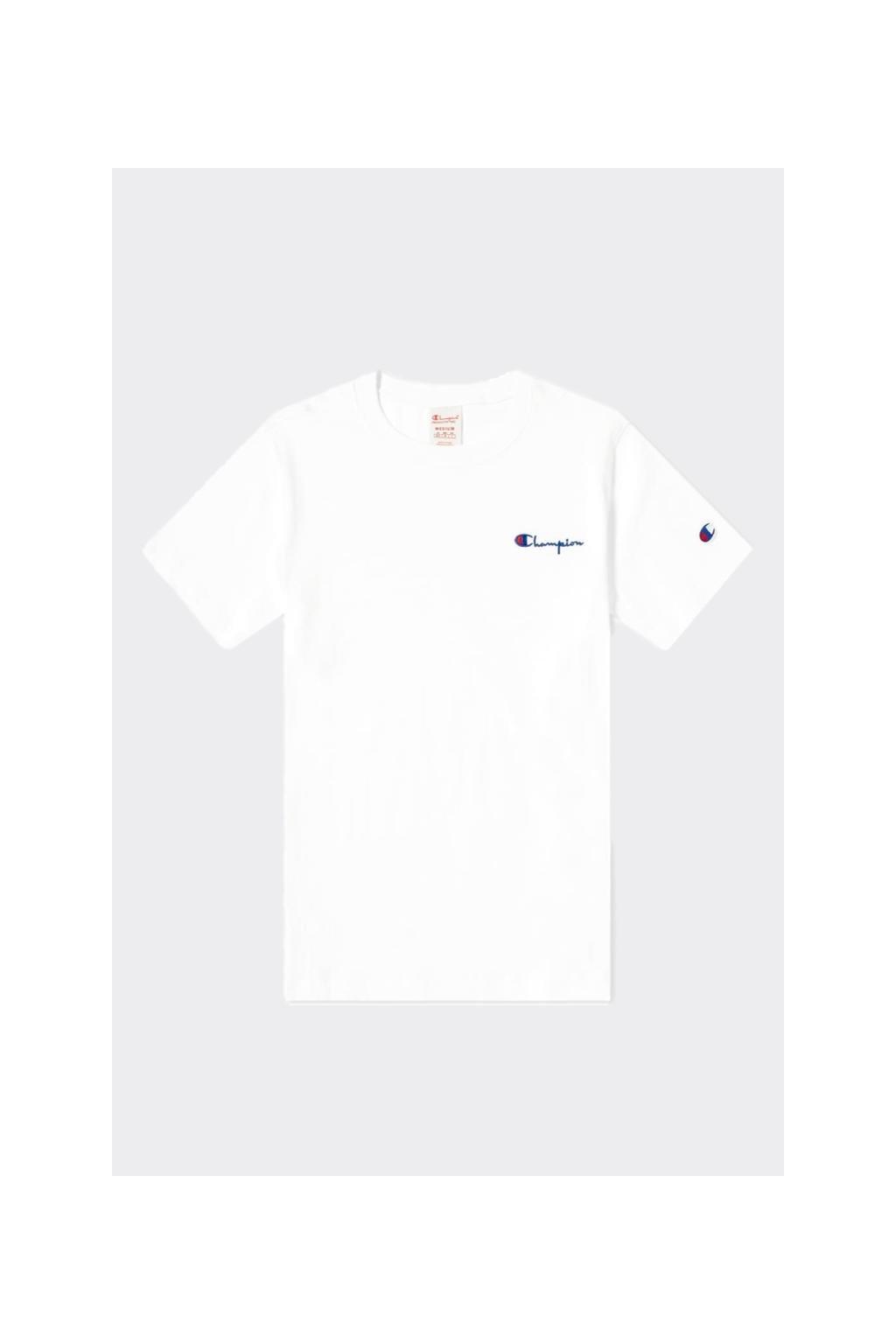 Champion Premium dámské tričko malé logo - bílá