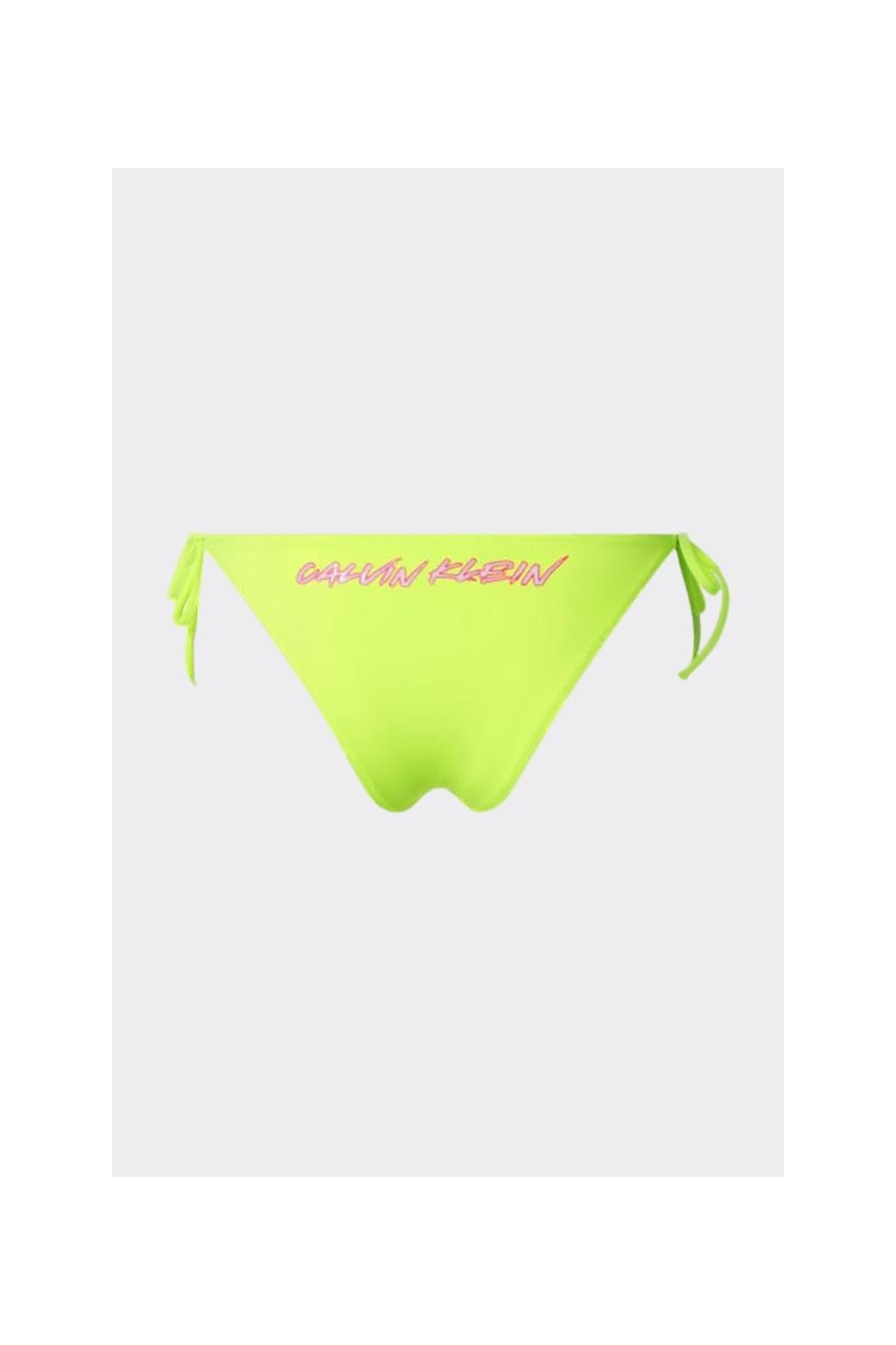 Calvin Klein cheeky spodní díl plavek - neonová