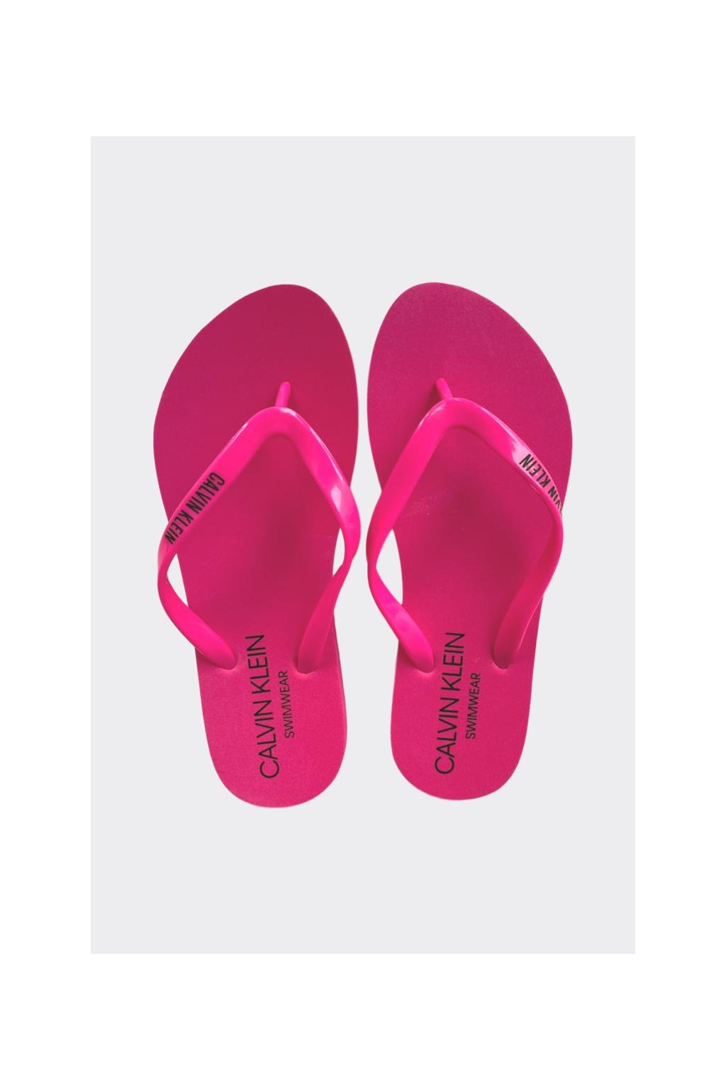 Calvin Klein žabky - růžové