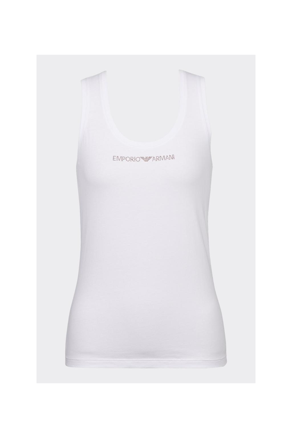 Emporio Armani visibility tílko - bílé
