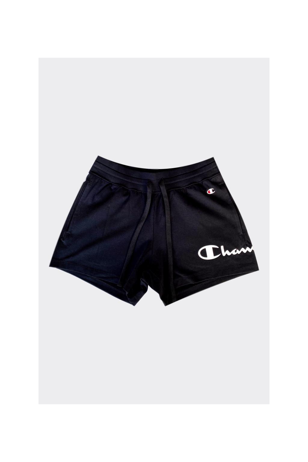Champion šortky s logem dámské - černé