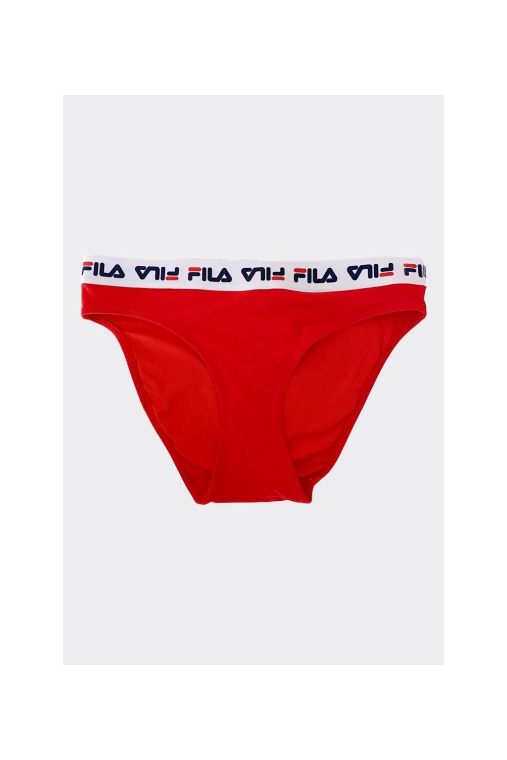 FILA spodní díll plavek KOUTA - červená