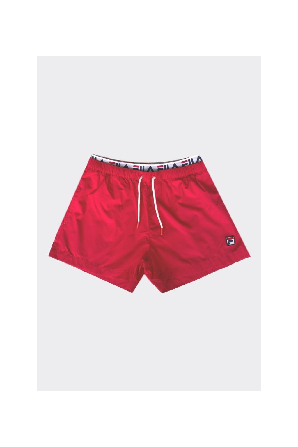 FILA pánské plavky RYOTA - červené