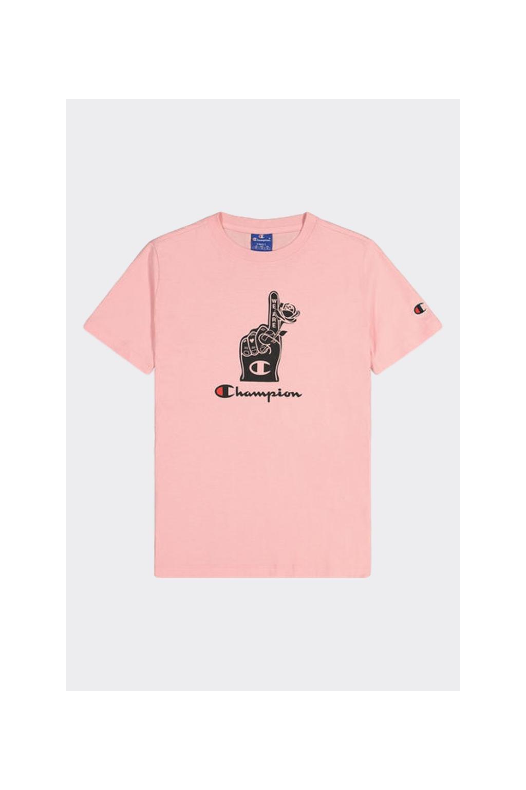 Champion dámske tričko - světle růžové