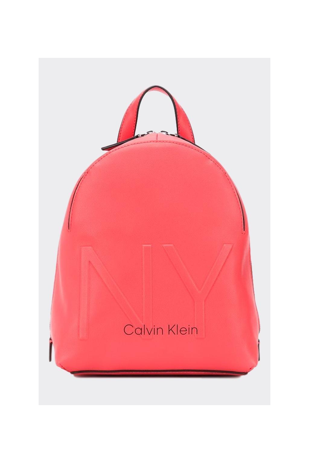 Calvin Klein batoh - korálová