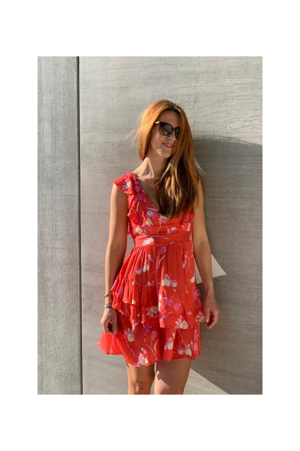 Maaji šaty - červená
