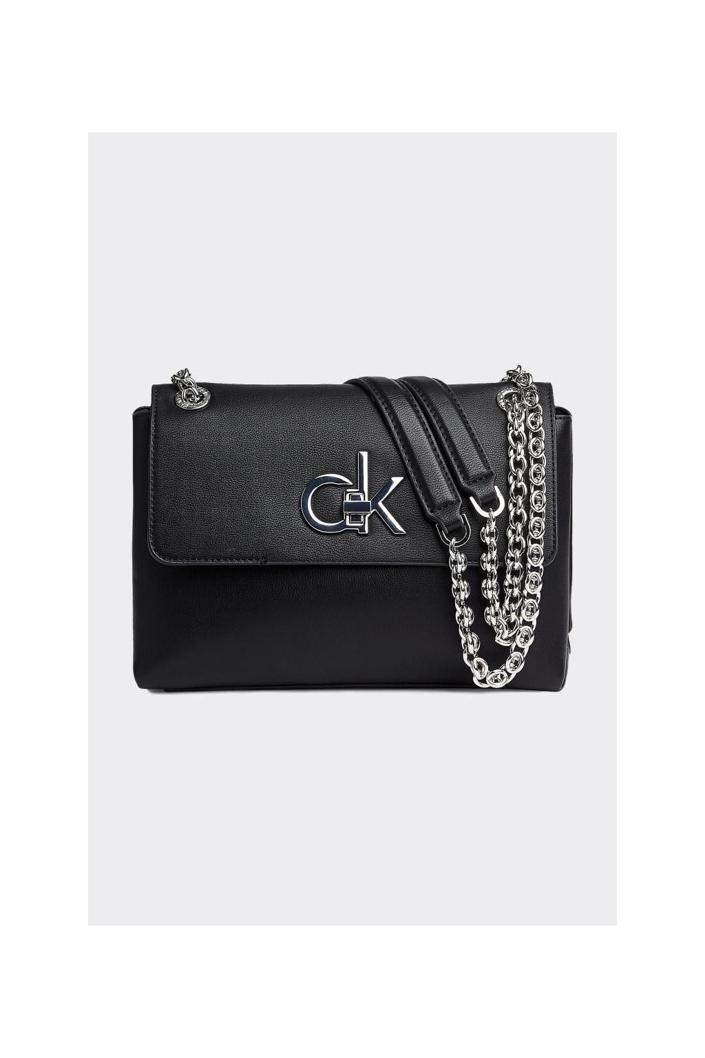 Calvin Klein crossbody kabelka - černá