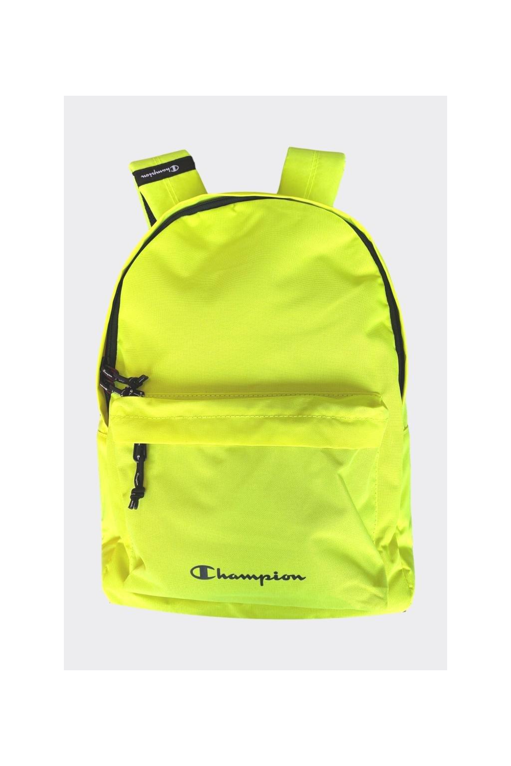 Champion batoh - neonově žlutá