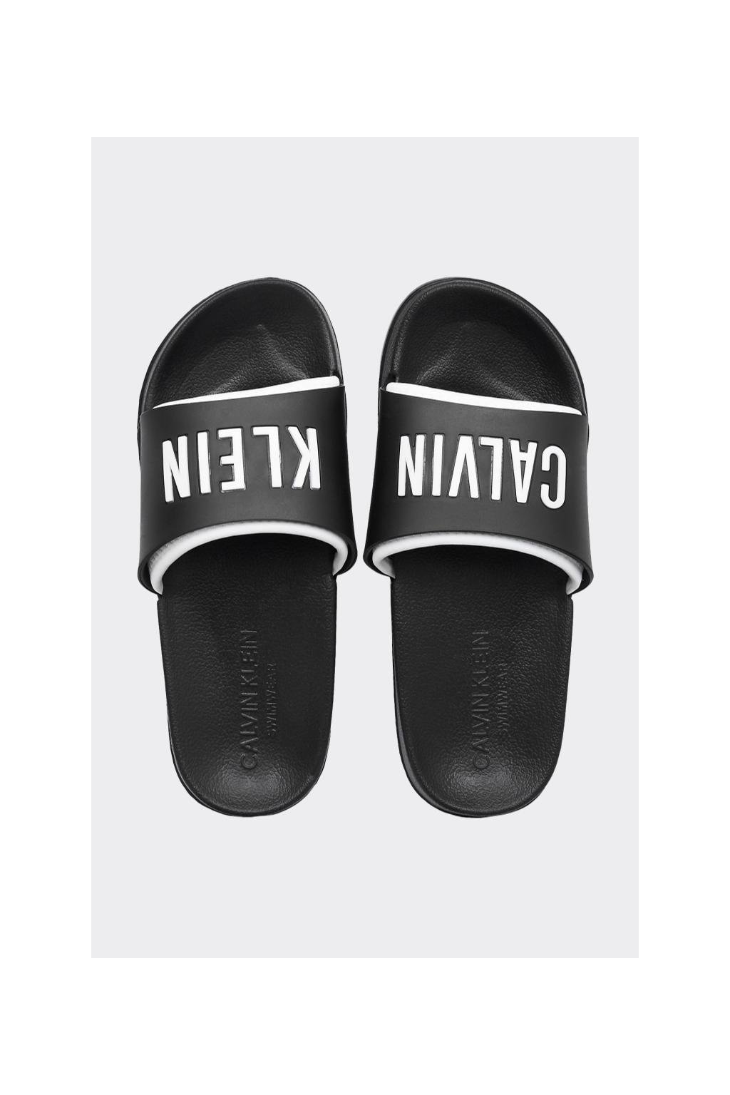 Calvin Klein Intense Power pantofle dámské - černé