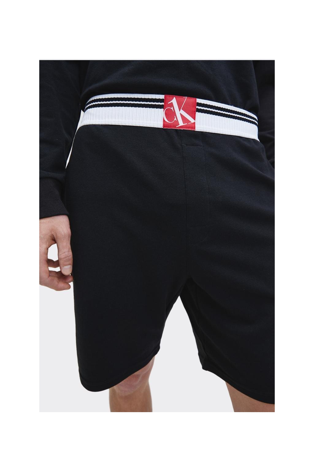 Calvin Klein šortky pánské - černé