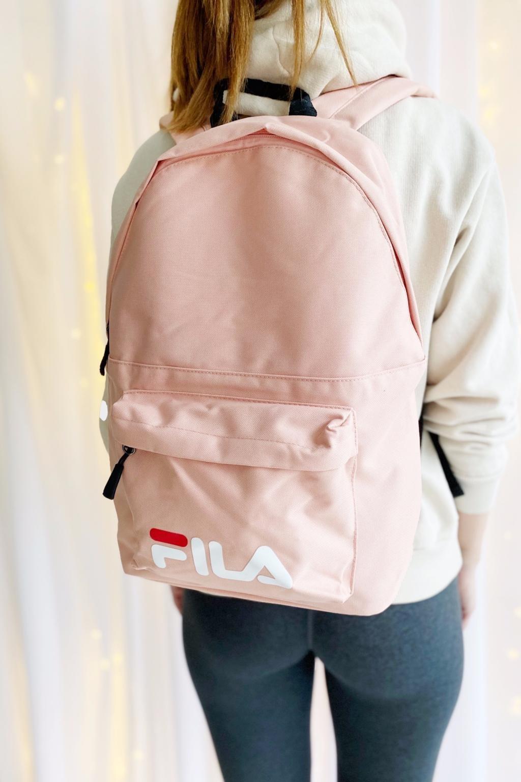 FILA batoh unisex - světle růžový