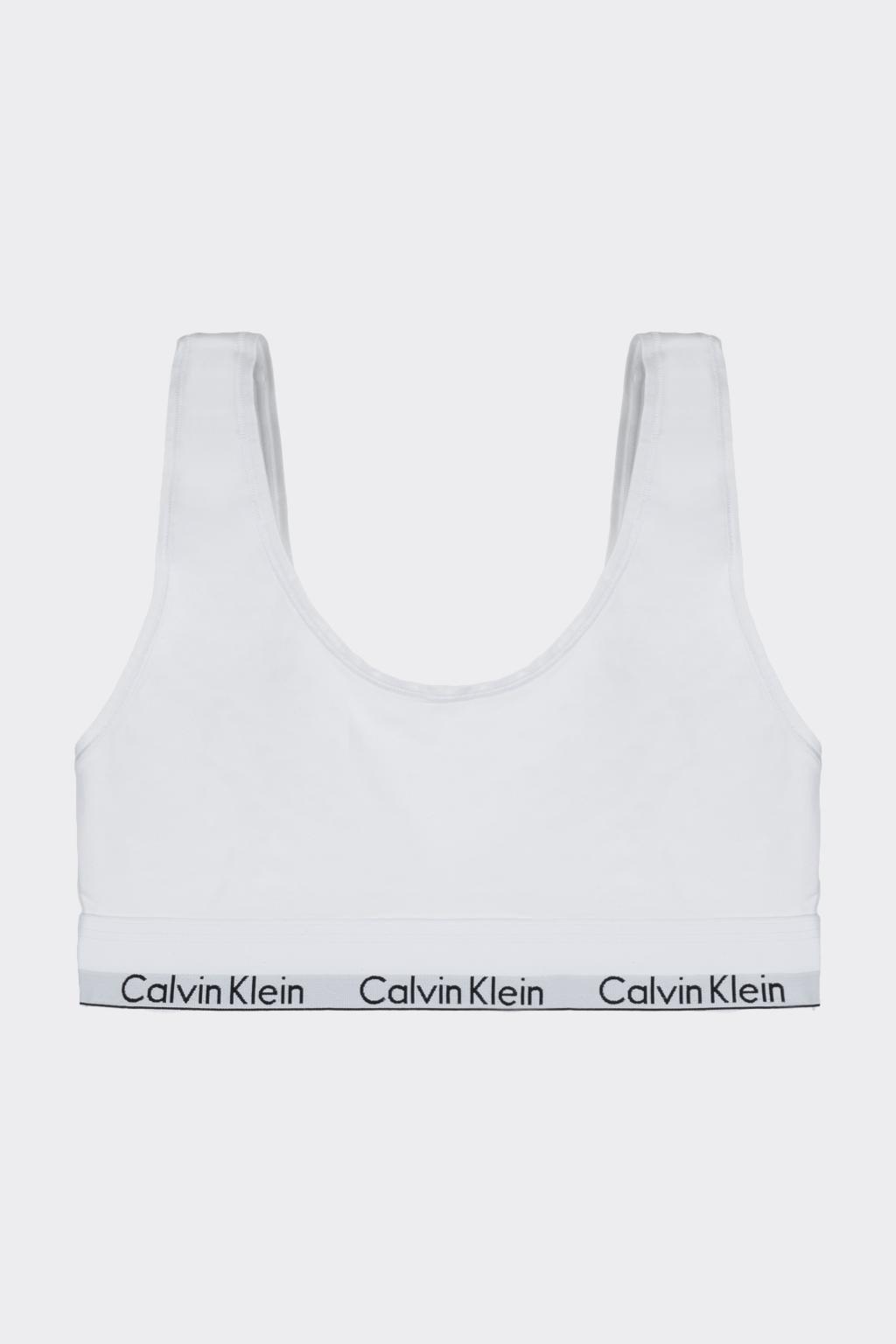 Calvin Klein Modern Cotton U Bralette - bílá