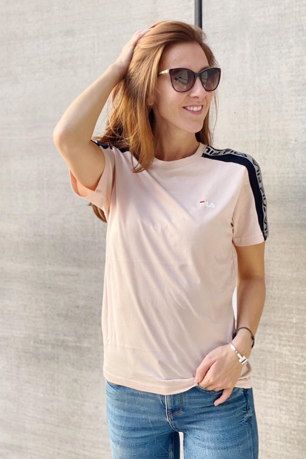 FILA tričko TAMSIN dámské - růžové