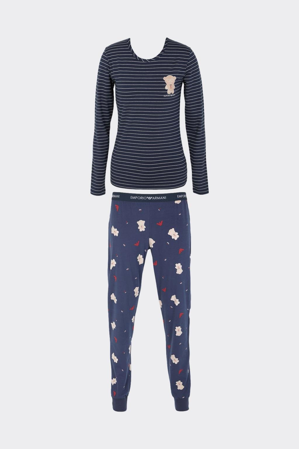 Emporio Armani Ginger Bread pyžamo dámské - modré