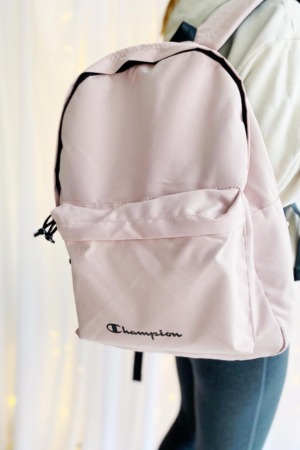Champion batoh dámský - světle růžový