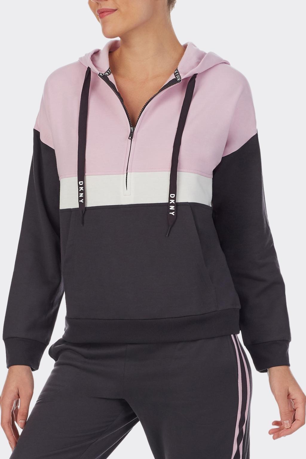 DKNY dámské mikina - šedá, růžová