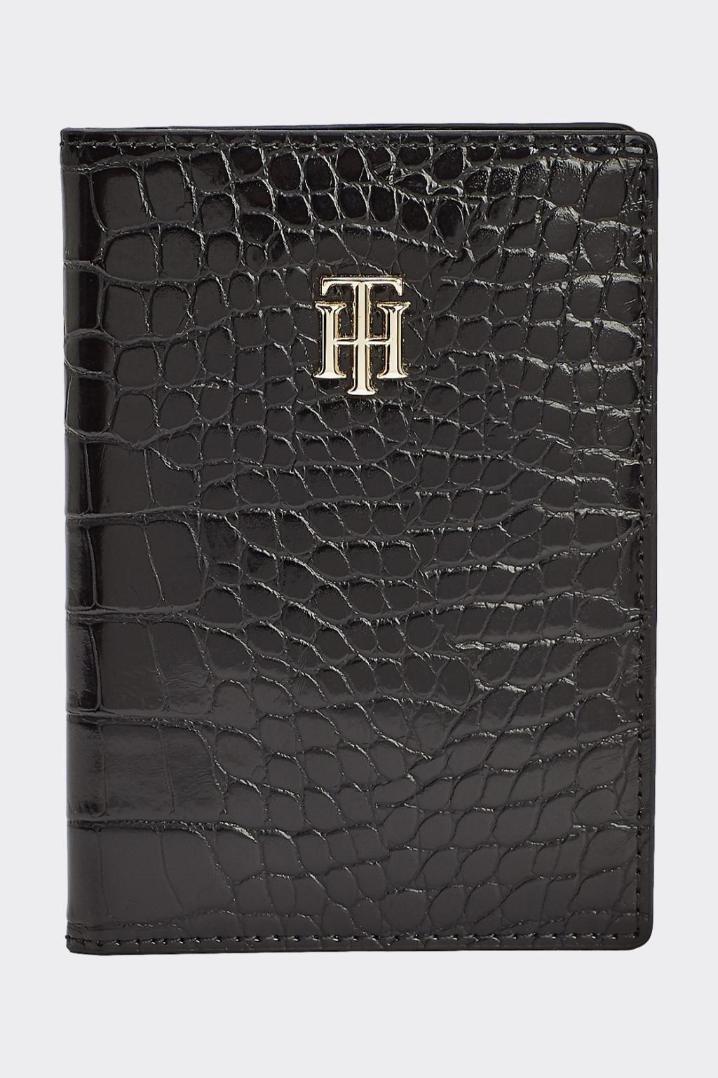 Dárkové balení Tommy Hilfiger pouzdro na pas - černé