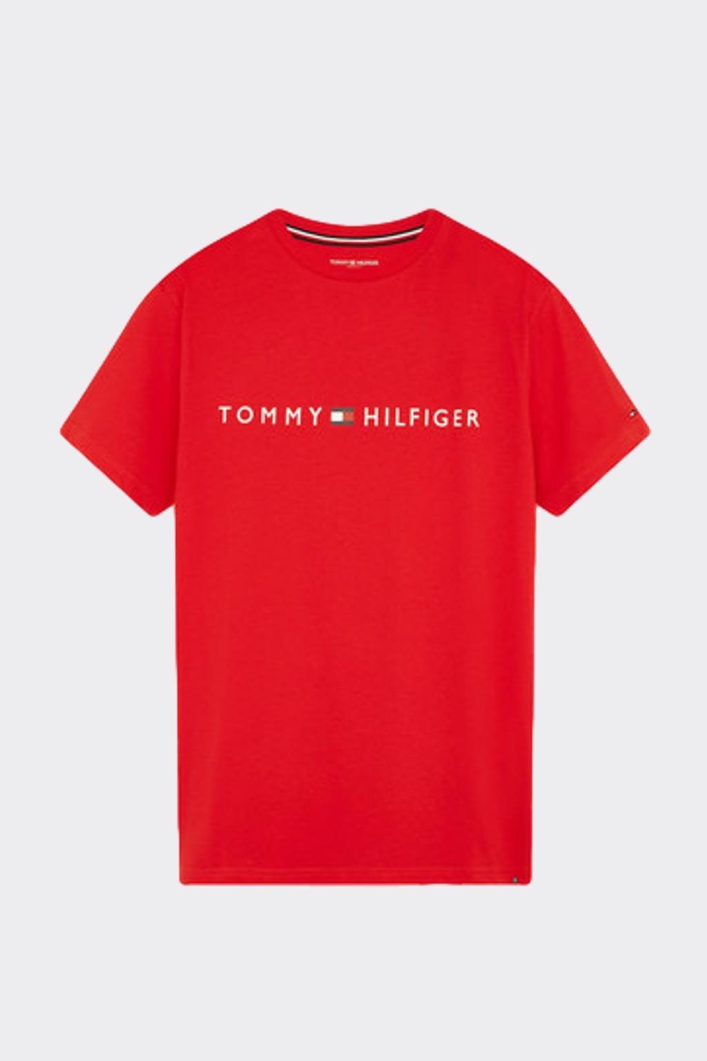 Tommy Hilfiger Original tričko pánské - červené