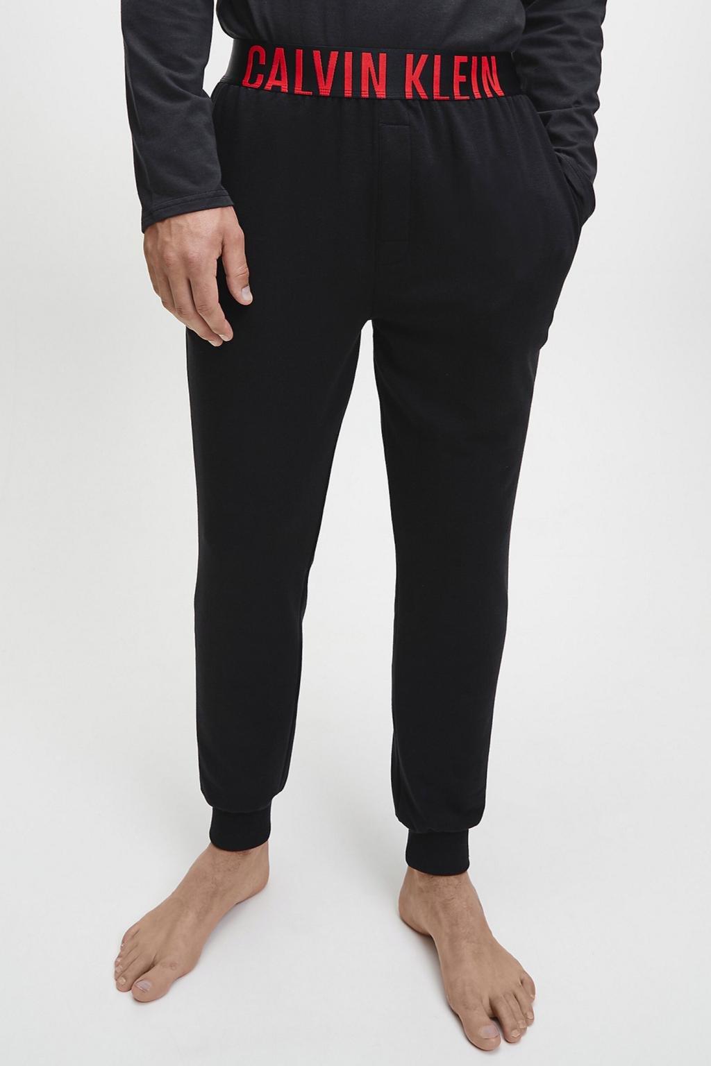 Calvin Klein Intense Power pánské volnočasové kalhoty - černé