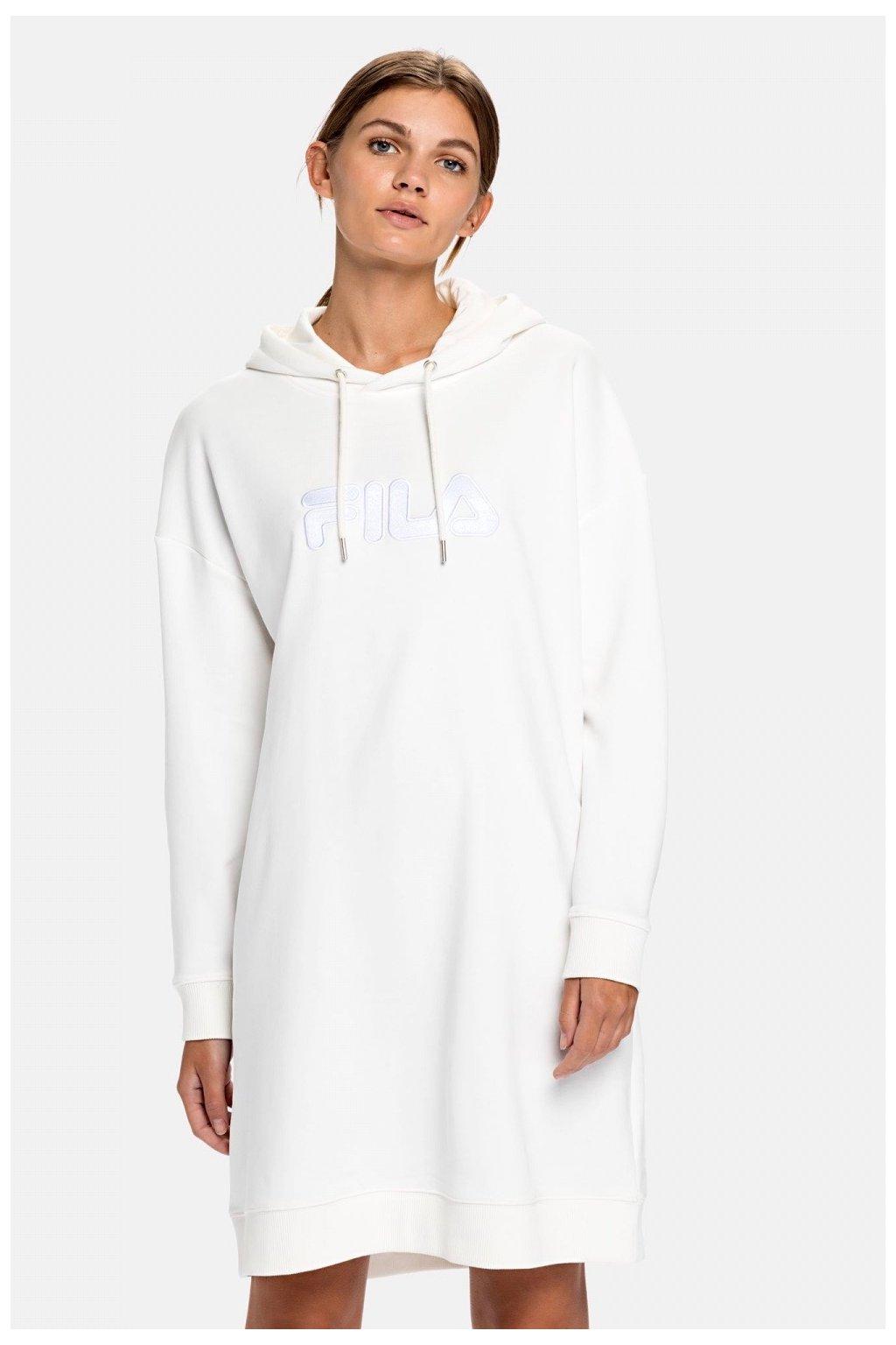 FILA Felice teplákové šaty dámská - bílé