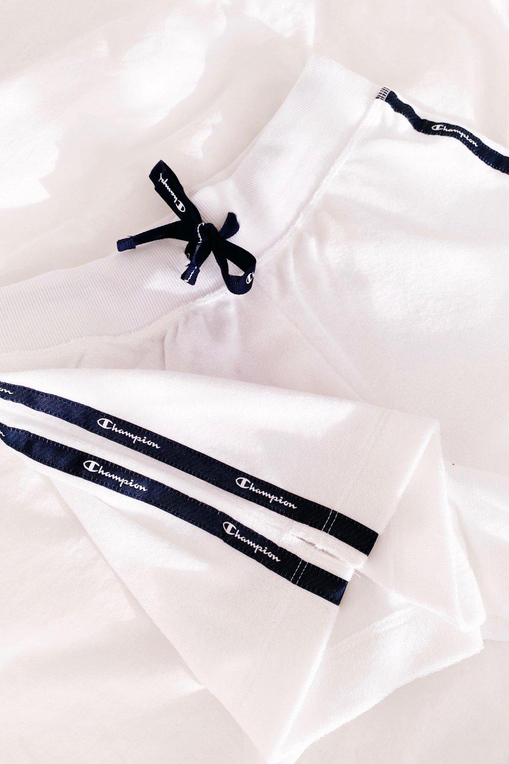 Champion šortky dámské - bílé