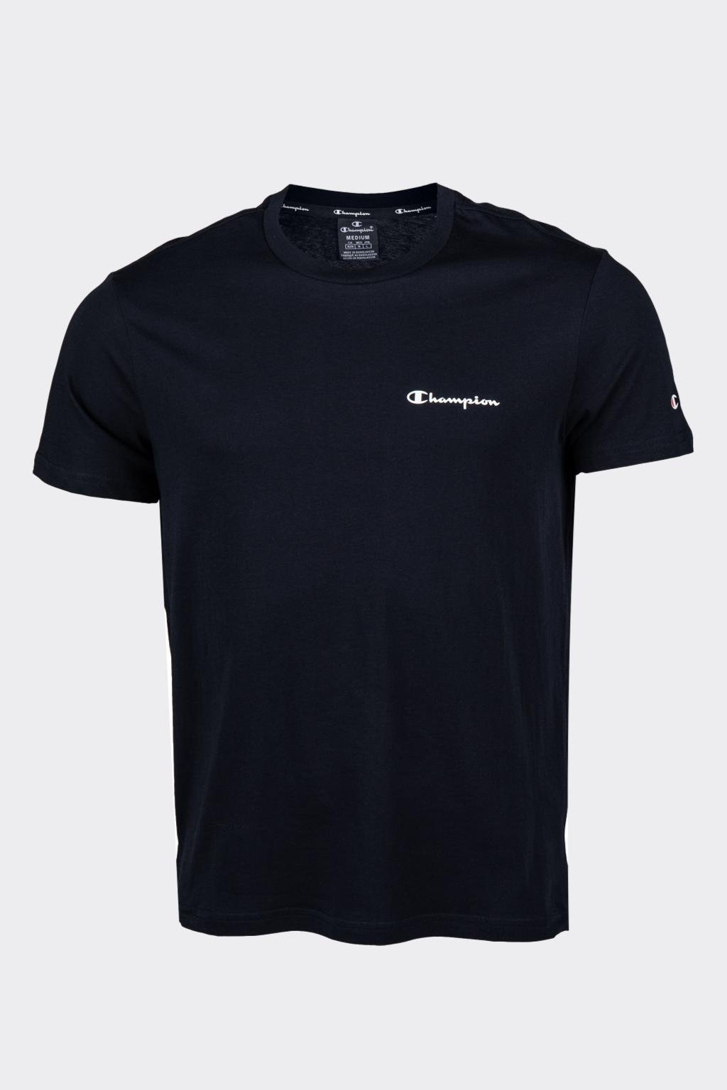 Champion pánské tričko s logem - černé