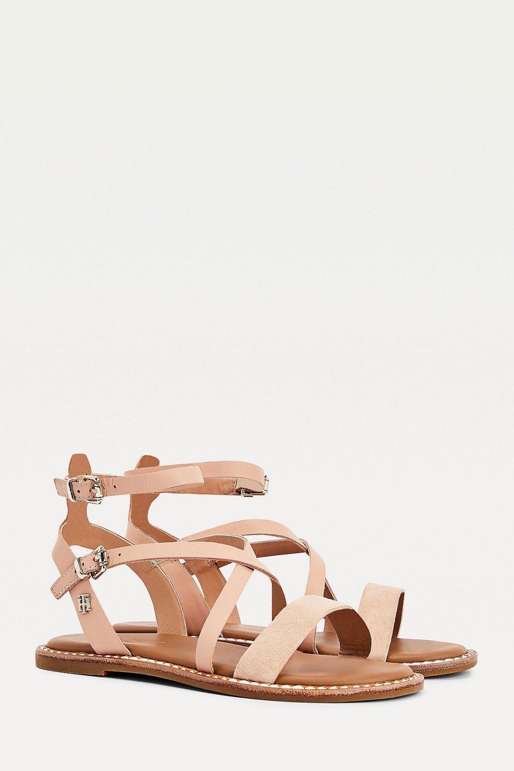 Tommy Hilfiger sandále dámské - béžové