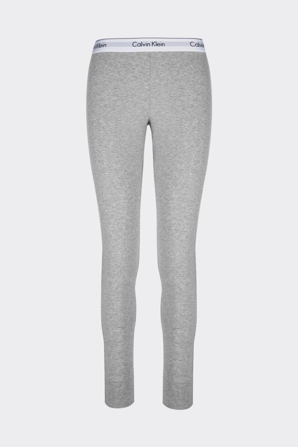 Calvin Klein Modern Cotton Legíny dámské- šedé (Velikost XS)