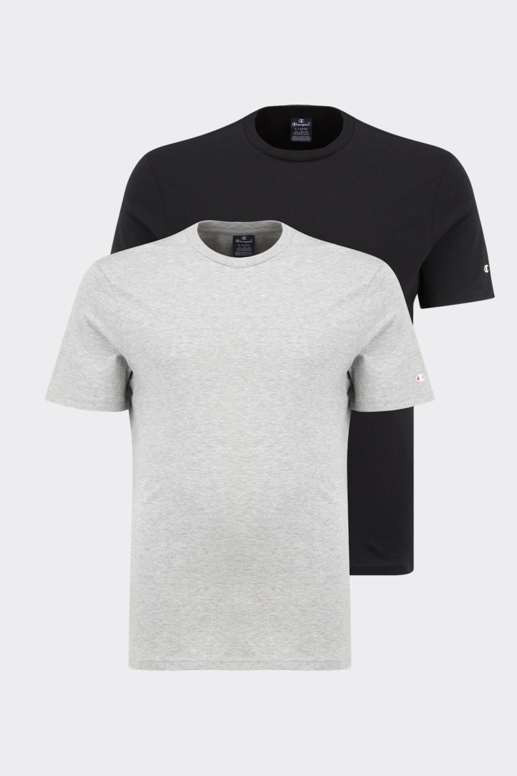 Champion 2-balení triček pánské- černá, šedá