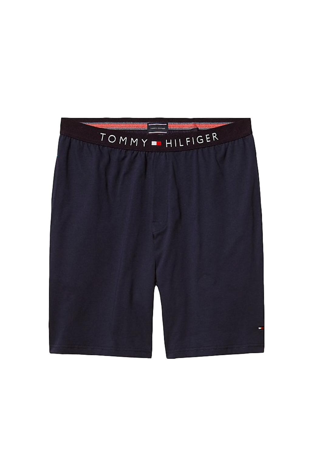 Tommy Hilfiger Cotton Šortky - tmavě modré