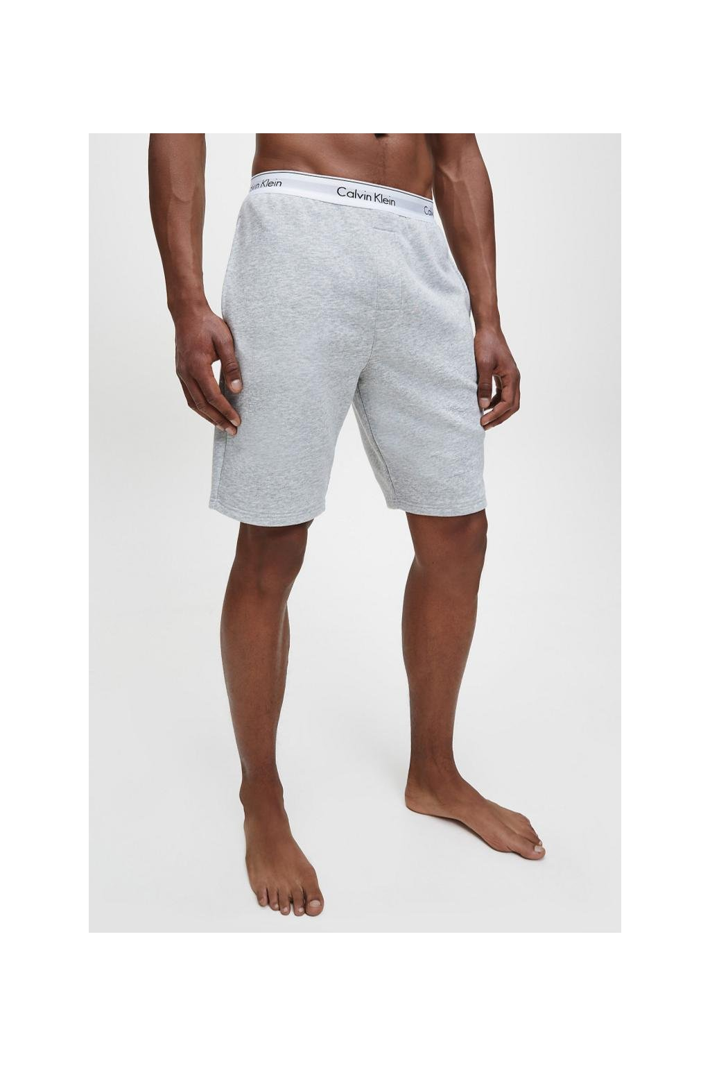 Calvin Klein Modern Cotton šortky - šedé