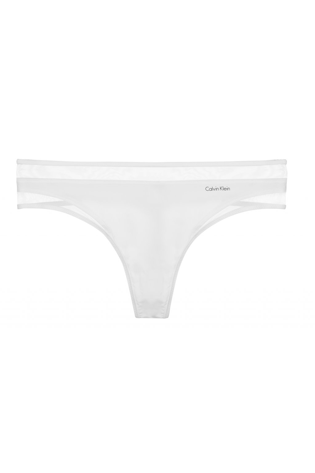 Calvin Klein Naked Touch Tanga - bílá