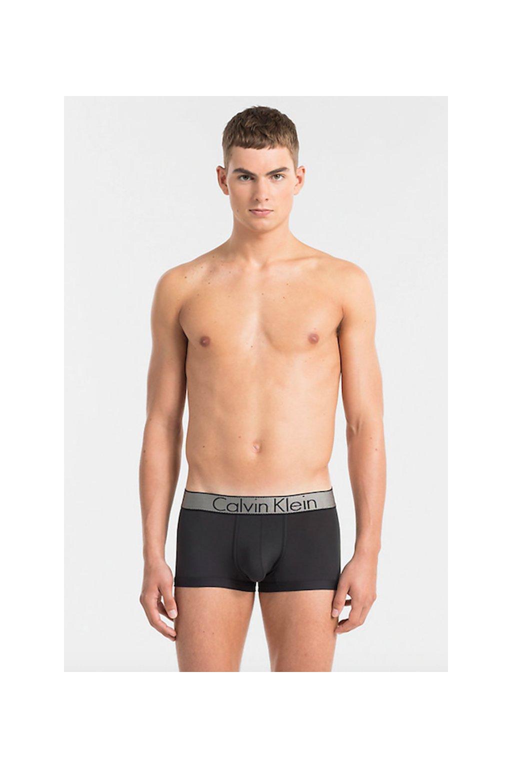 Calvin Klein Boxerky Customized Strech - černé