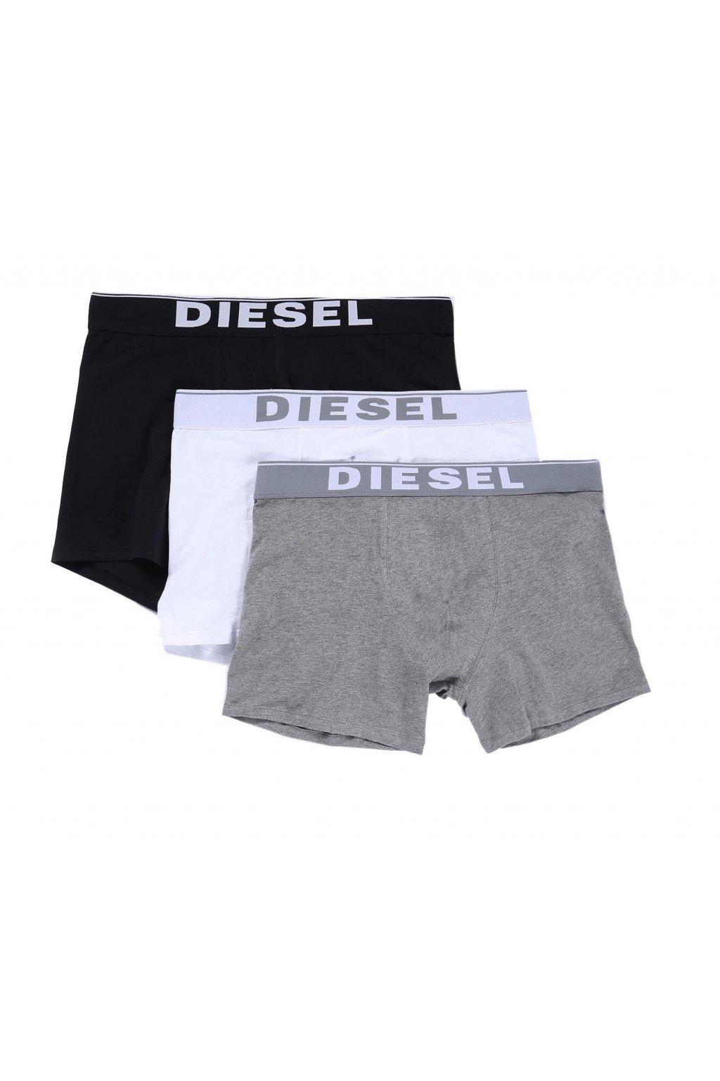 Diesel Logo Boxerky - 3 balení