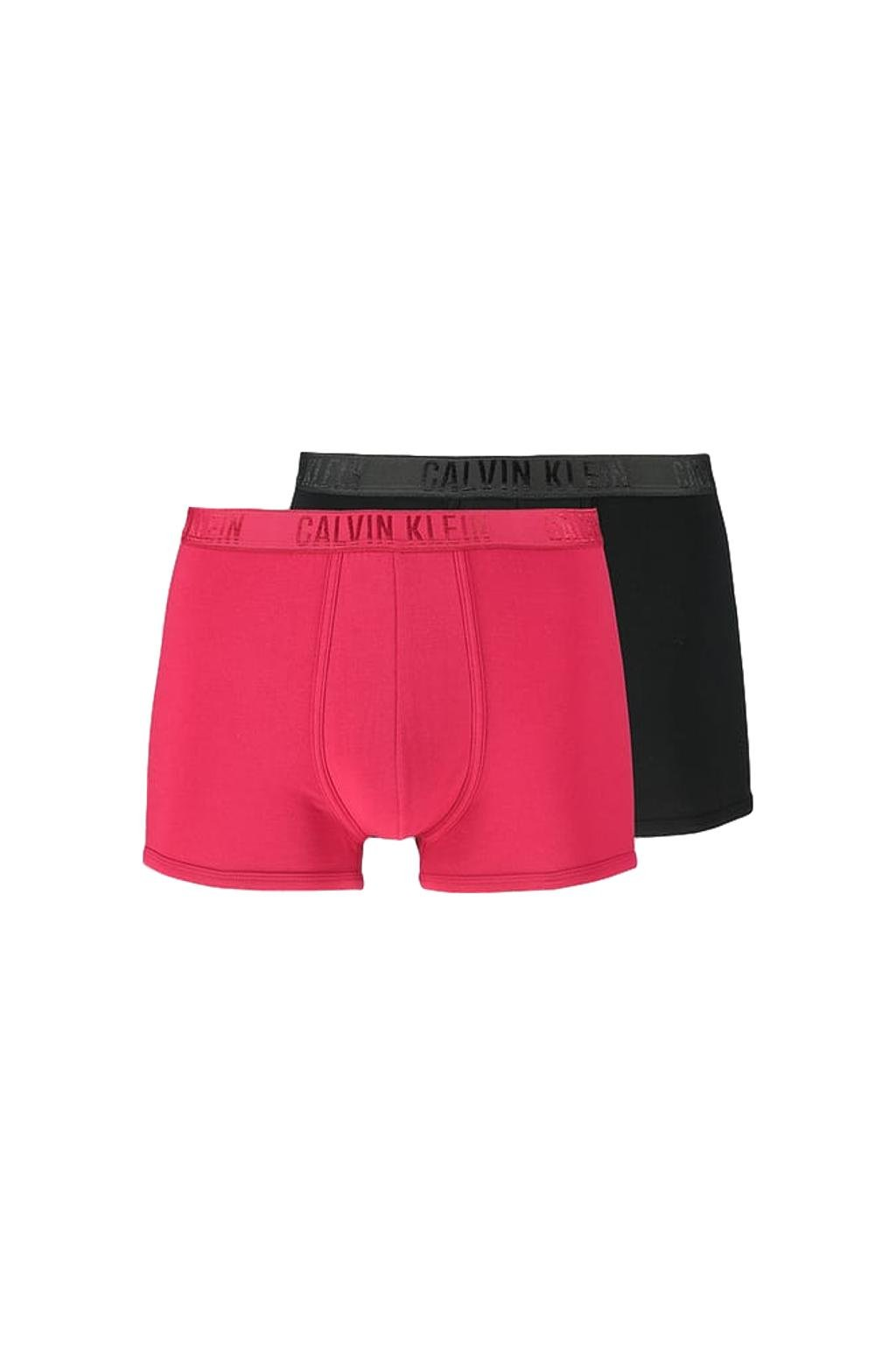 Dárkové balení pro něj: Calvin Klein Boxerky Shine 2-balení - black/empower