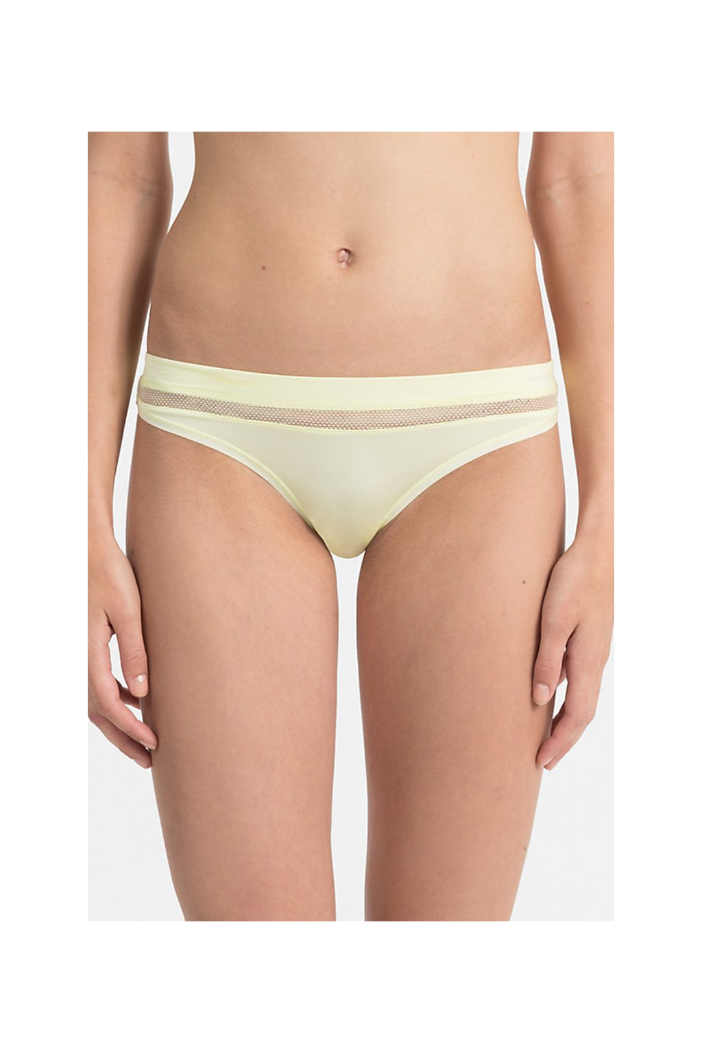 LIMITKA! Calvin Klein Youthful tanga - agnes yellow