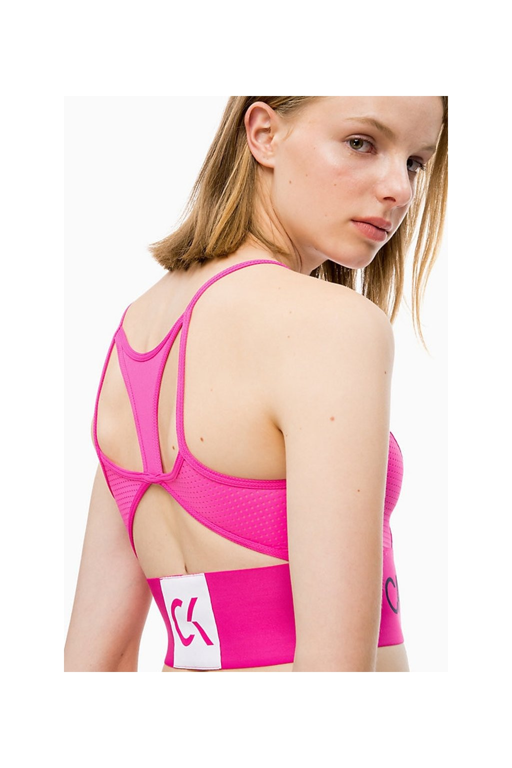 Calvin Klein Performance braletka - růžová