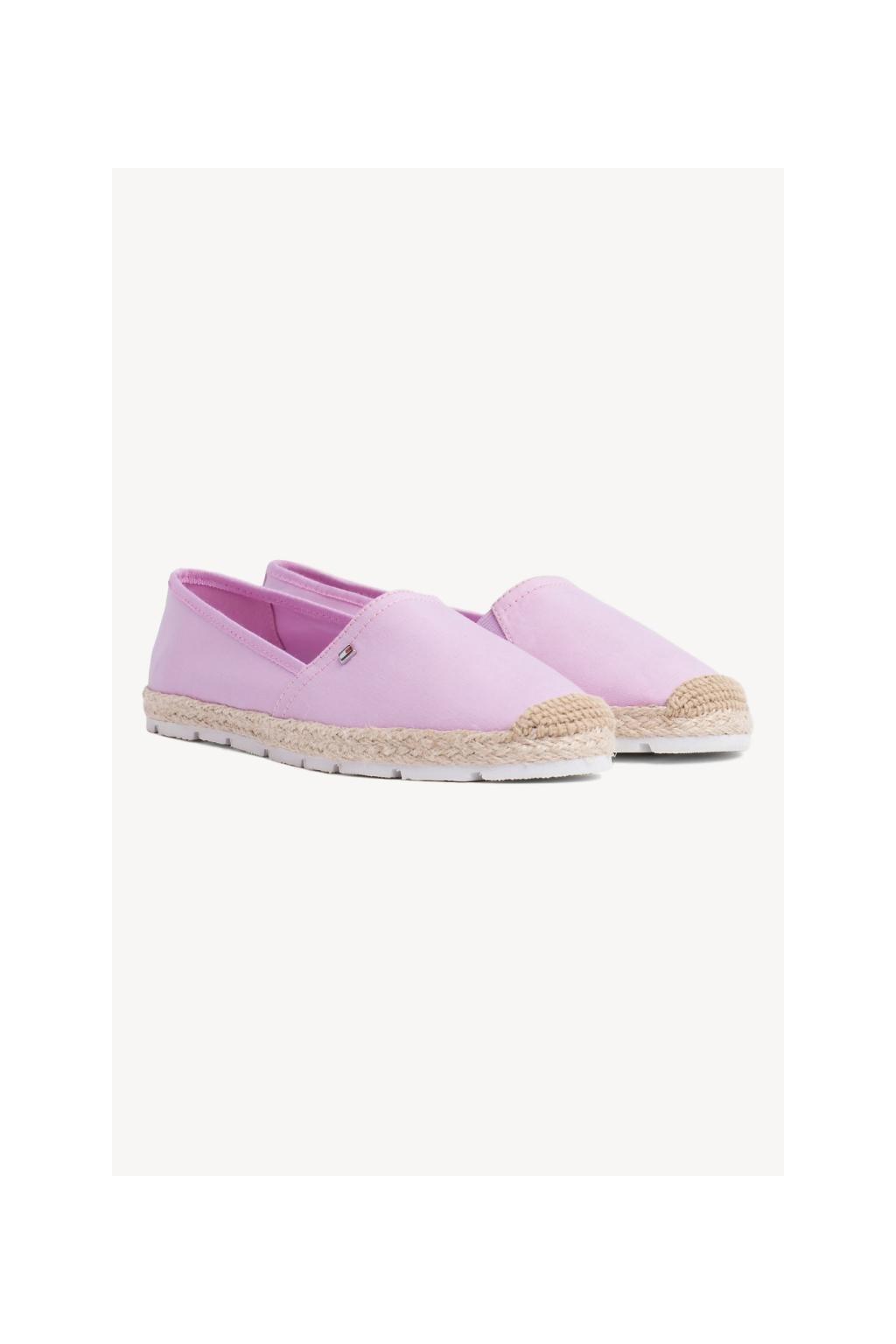 Tommy Hilfiger Espadrillky - pink lavender